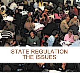 STATE REGULATION - THE ISSUES